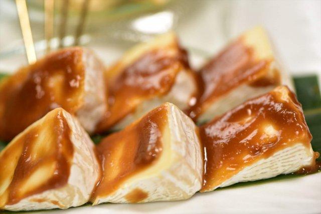 カマンベールの 自家製ブレンド味噌漬け