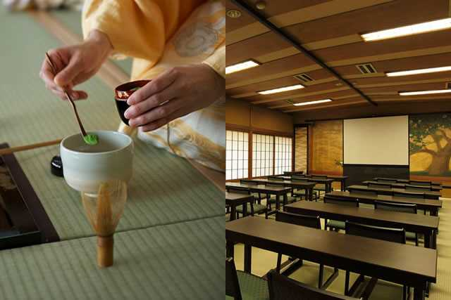 Tea party / conference / exhibition