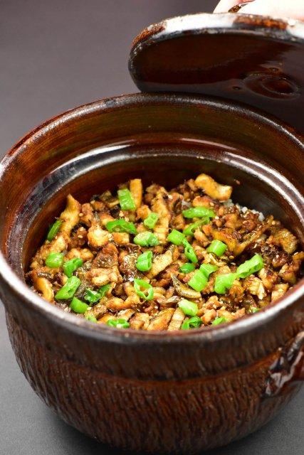焼き穴子土鍋ご飯