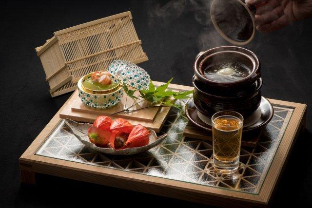夢浮橋会席の前菜