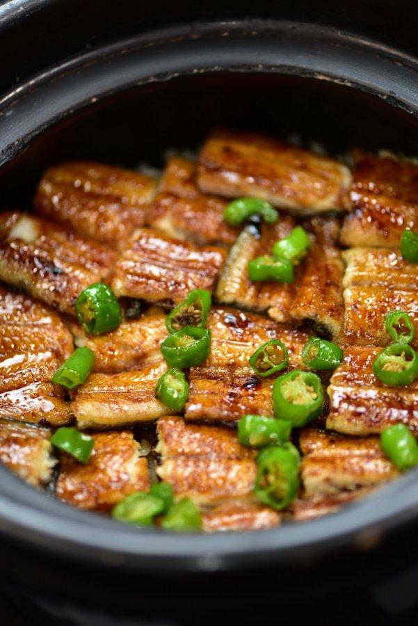 鰻の釜焚きご飯
