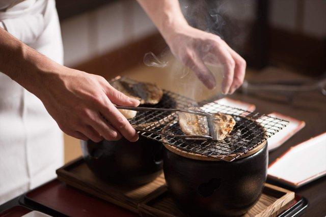 アジの焼き魚