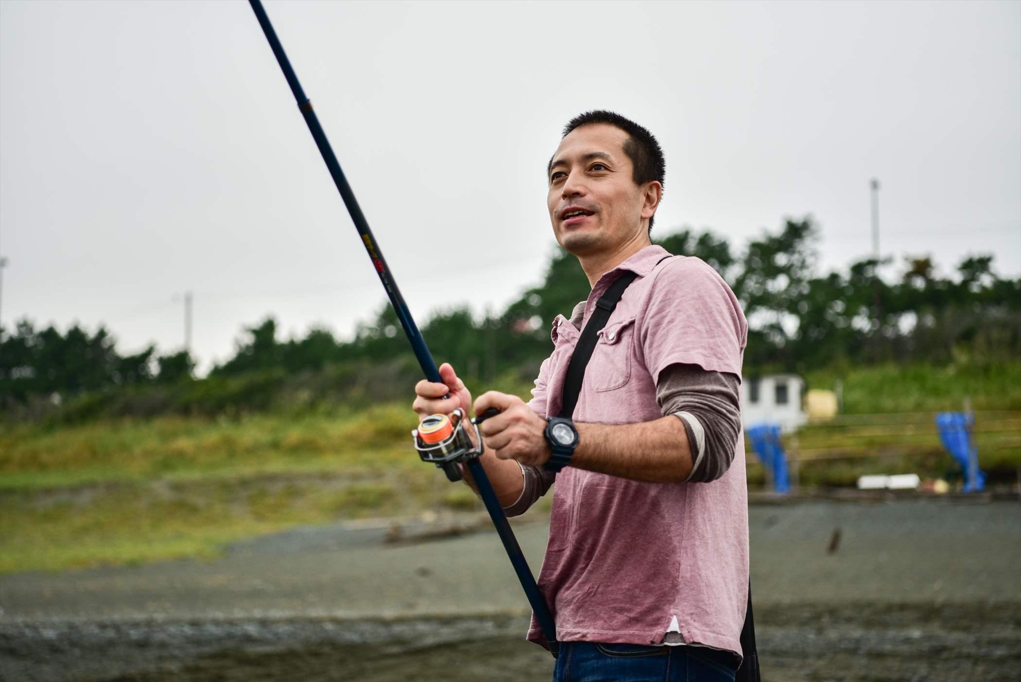 ここは釣りもできます。
