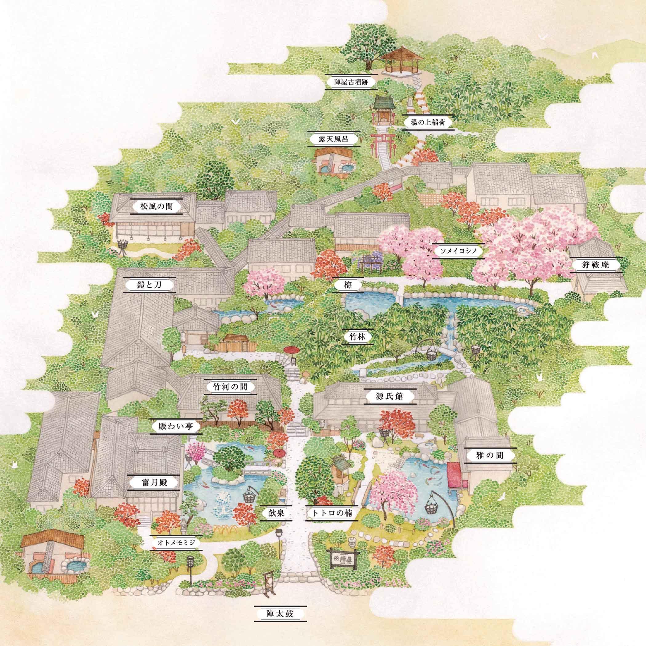 1万坪の庭園