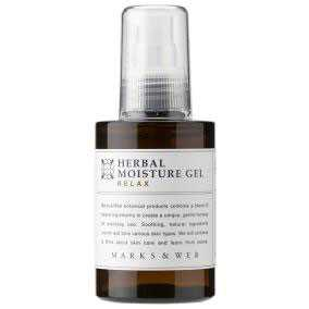 marks&web moisturizing gel