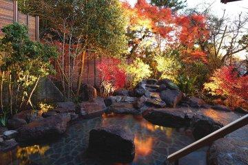 陣屋の温泉