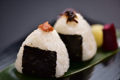 2 rice balls